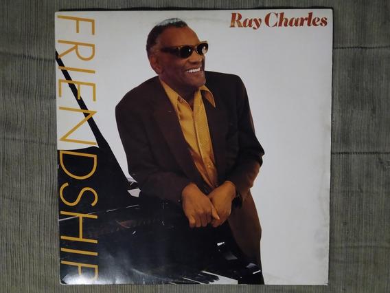 Disco Promocional - Ray Charles - Friendship - C/pré Release