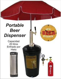 Dispensadores Portatiles De Cervezas En Barriles