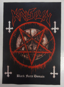 Backpatch Krisiun - Black Force Domain - 40x28