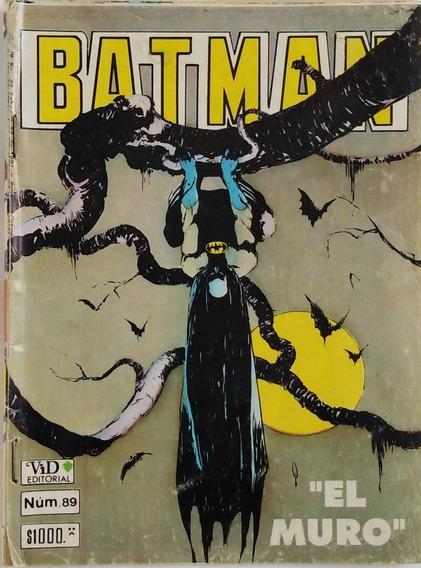 Historieta Batman Numero 89