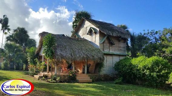 Finca Con Casa De Venta En República Dominicana