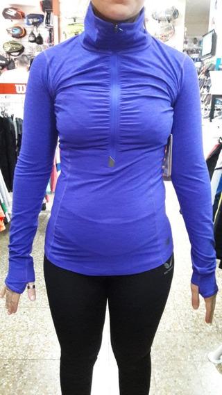 Camiseta New Balance Transit Half Zip W Envios Pais Gratis V