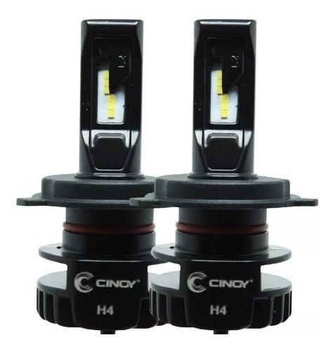 Kit Led Cinoy Plus H4 /h13 6500k /6000 Lumens Reais/foco Top
