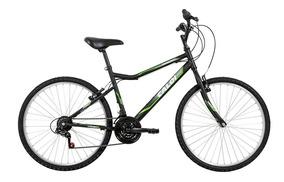Bicicleta Caloi Twister Aro 26, Freio V-brake, Preta