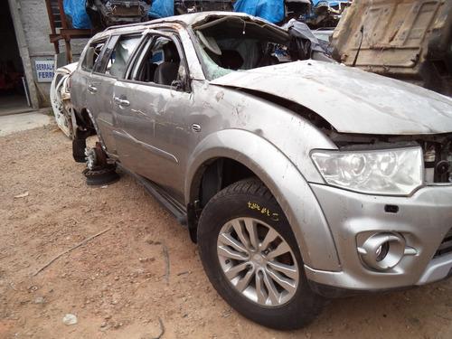 Sucata Pajero Dakar 3.2 Diesel 2016 Para Retirada De Peças