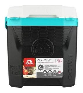 Caixa Térmica Igloo Quantum 12qt 11l Preto/turquesa - Igloo