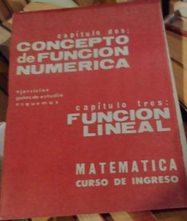 Libro Concepto De Función Númerica Carugno-dubson
