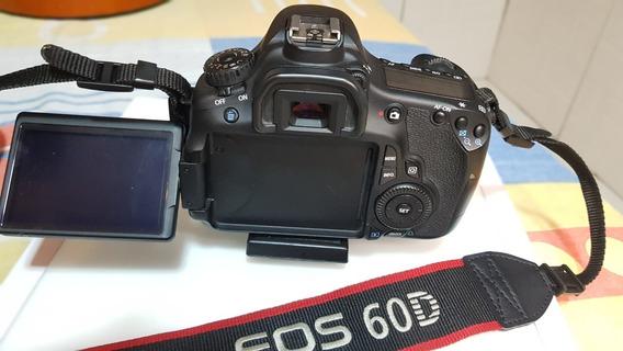 Câmera Canon Eos 60d - Usada -6,4k Cliques - Impecável