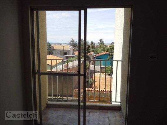 Apartamento Com 2 Dormitórios À Venda, 64 M² Por R$ 210.000 - Jardim Carlos Lourenço - Campinas/sp - Ap5734