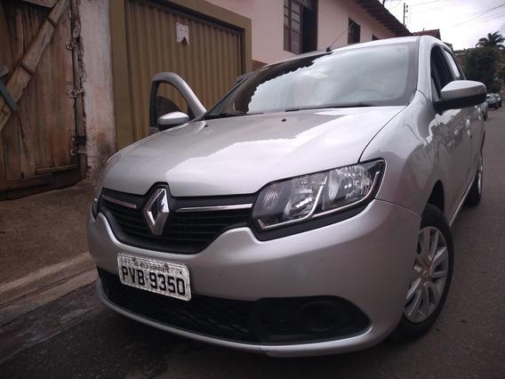 Renault Sande 1.6 Automático Completo 28413 Km R$27900,00