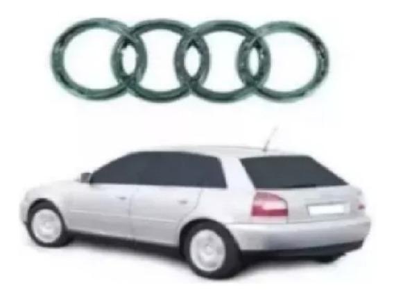 Emblema Audi Cromado Traseiro A3 / A4 / A6 Até 2005