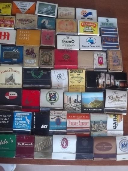 Coleccion De Cajitas Y Carteritas De Fosforos