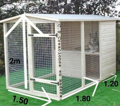 Imagen 1 de 3 de  Cucha Y Corral De Perros Grandes