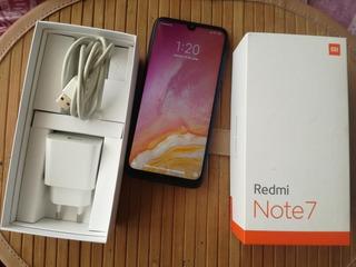 Xiaomi Redmi Note 7 Completo + Auris Nuevos De Regalo
