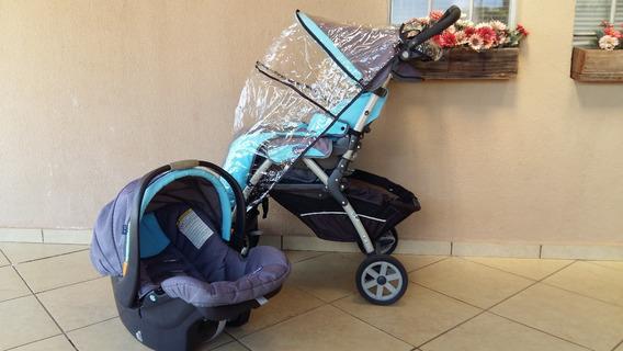 Carrinho De Bebê + Bebe Conforto. Marca Chicco