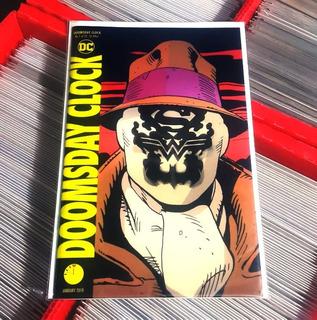 Doomsday Clock #1 Portada Lenticular (2017 Series)