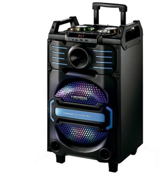 Caixa De Som Potência 240w P2 P10 Auxiliar Energia 110v 220v