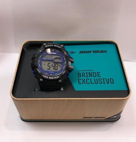 Relógio Masculino Mormaii Wave Mo3480a/k8a + Brinde= 17