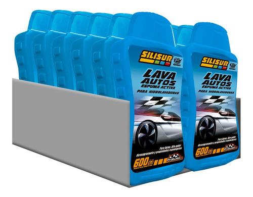 Silisur Lava Autos Espuma Activa 600cc Pack 12u