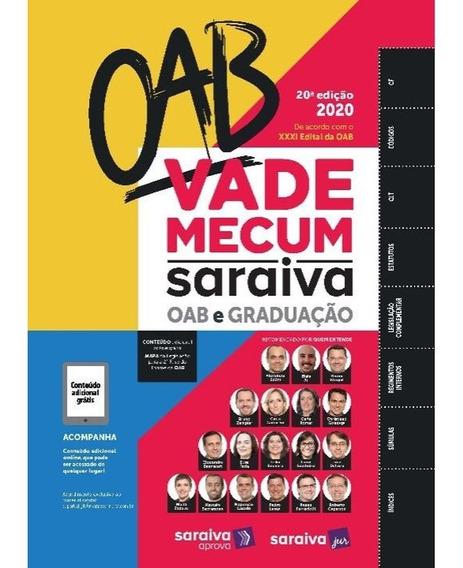 Vade Mecum Saraiva 2020 - Oab - 20ª Edição