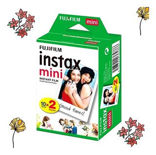 Papeles Para Foto Paquete De 20 Instax Mini Fujifilm