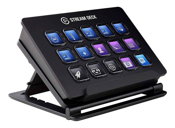 Stream Deck Elgato 15 Botones Lcd Customizables Streaming