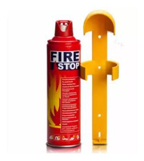 Extintor Extinguidor 1000 Ml Auto Casa Polvo No Co2 1 Kg