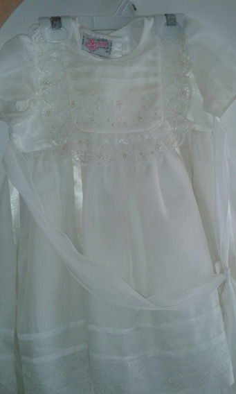 Vestido De Bautizo Talla 4