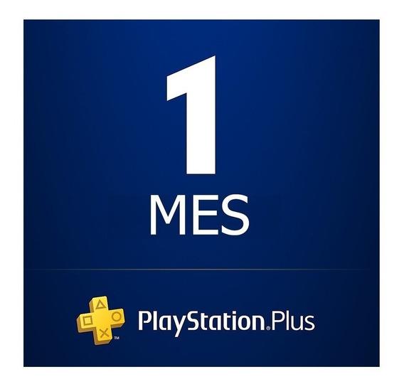 1 Mes Playstation Plus Jugá Con Tu Cuenta ! Skin Fornite No!