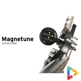 Afinador Korg Magnetune Mg-1 Para Guitarra, Baixo E Violão