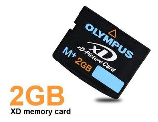 Olympus Tarjeta Xd M+ 2gb Xd Picture Card Nueva Original