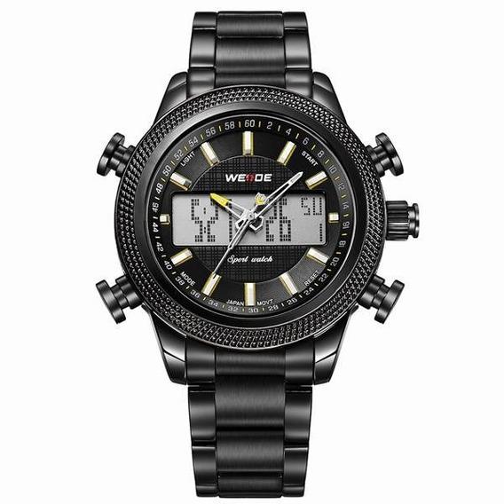 Relógio Masculino Weide Anadigi Wh-3406