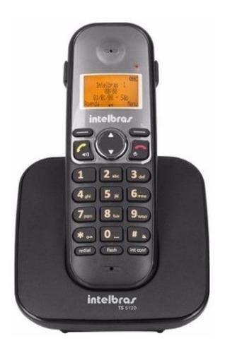 Imagem 1 de 3 de Telefone Fixo Sem Fio Intelbras Ts 5120 Com Entrada Headset