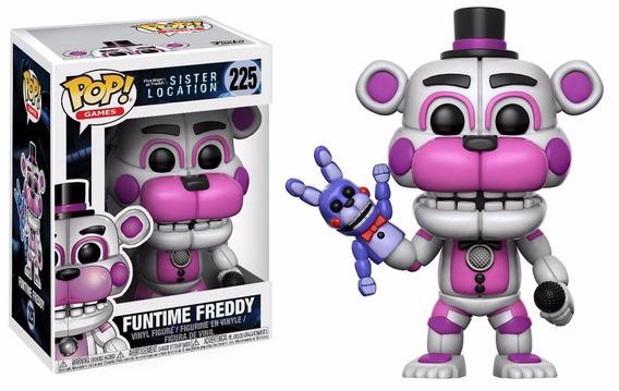 Funtime Freddy 225 - Fnf Sister Location - Funko Pop