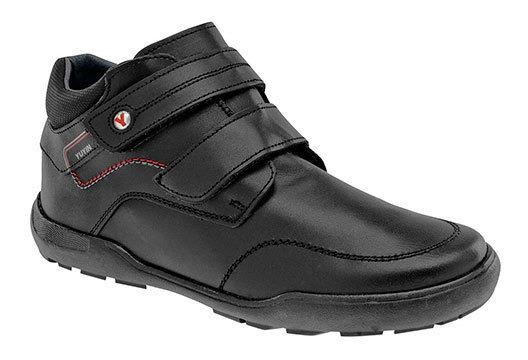 Sneaker Deportivo Clases Yuyin Negro Piel Niño J94177 Udt