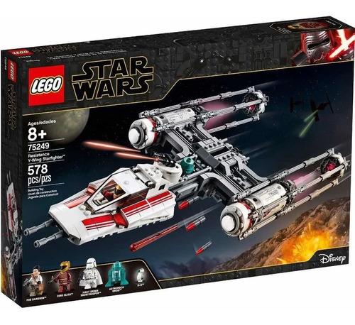 Imagen 1 de 1 de Lego Star Wars - 75249 Resistance Y Wing Starfighter 578pcs