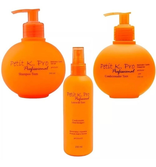 K.pro Kit Shampoo Condicionador& Leave In Petit Teen+ Brinde