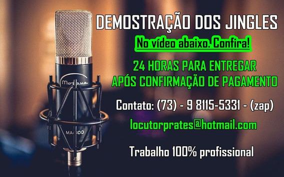 Jingle Para Carro De Som, Rádio E Tv