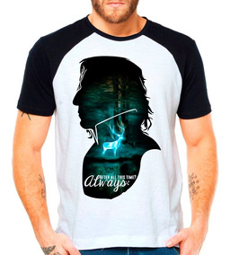 Camiseta Raglan Harry Potter Hp Snape After All This Time
