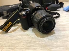 Camera Nikon D5000 Com Acessórios