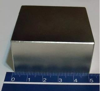 Ima De Neodimio N50 Super Forte 50,8mm X 50,8mm X 25,4mm