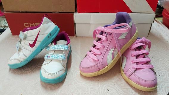 Zapatillas Reebok T29,5 Y Nike T26