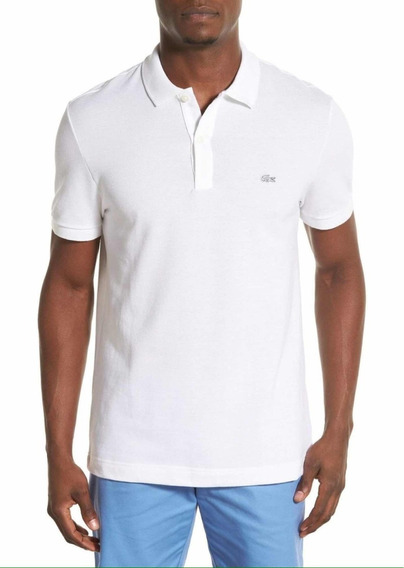Playera Polo Blanca Lacoste Mediana Original!
