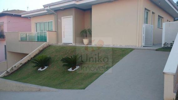 Linda Casa Em Condomínio Itatiba - Sp - Ca1223