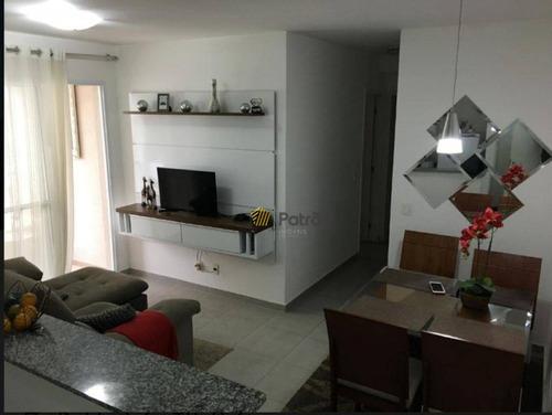 Apartamento Com 2 Dormitórios À Venda, 65 M² Por R$ 480.000 - Rudge Ramos - São Bernardo Do Campo/sp - Ap3148