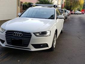 Audi A4 2014 1.8t Trendy 58 Mkm Fact Empresa Blanco Negro