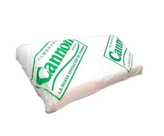 Almohada Cannon Placa Doble (70cm X 40cm)alta Densidad Tela De Algodón Antialérgica!!! Oferta!!! Cuotas Sin Interés!!!