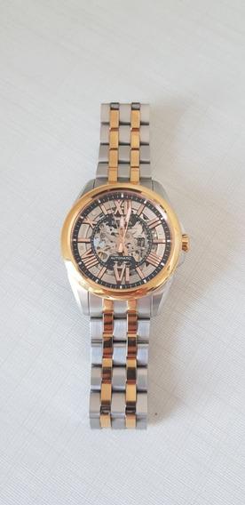 Relógio Bulova Masculino Automático Rosê Wb31998s 98a166
