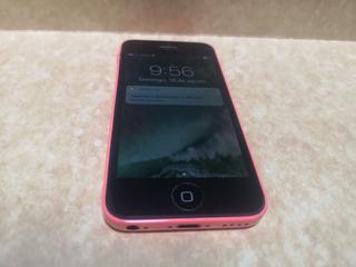 iPhone 5c 8gb Rosa 7/10 Libre + Caja + Cargador Libre Ganga!