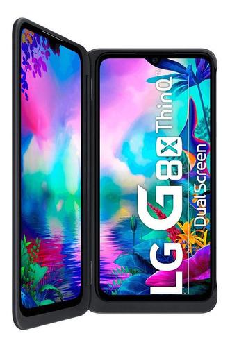 LG G8X ThinQ Dual SIM 128 GB Aurora black 6 GB RAM